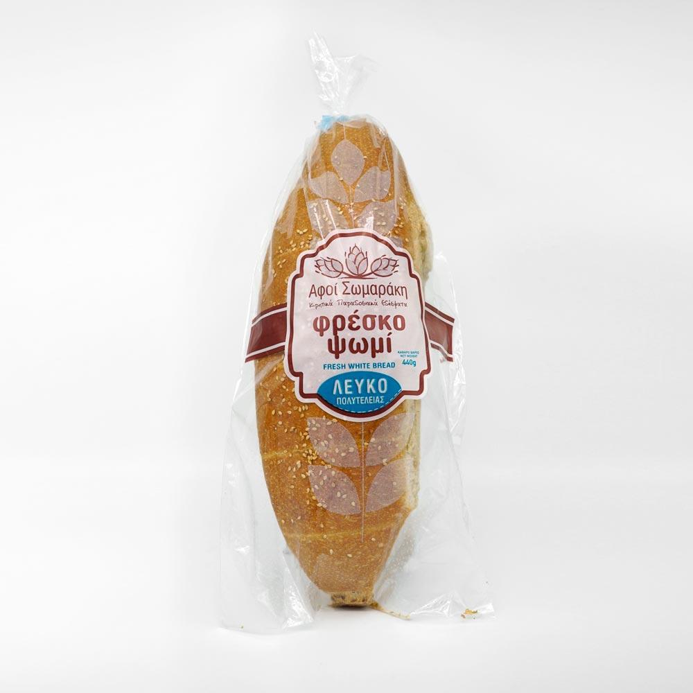 Φρέσκο ψωμί Φούρνος Αφοί Σωμαράκη